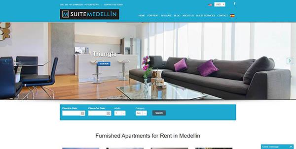 Diseño de Paginas Web En Medellin Cliente SuiteMedellin